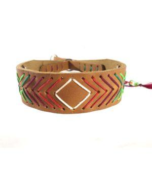 Modell Emelie Halsband für Windhunde mit zugstop Funktion aus Fettleder